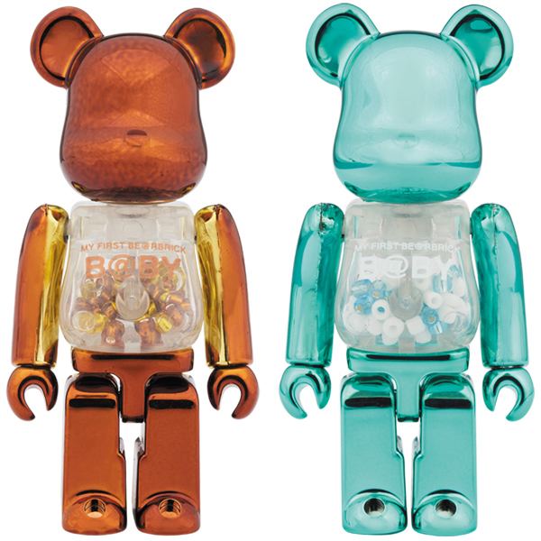 MY FIRST BE@RBRICK B@BY Steampunk Ver./Turquoise Ver.100%