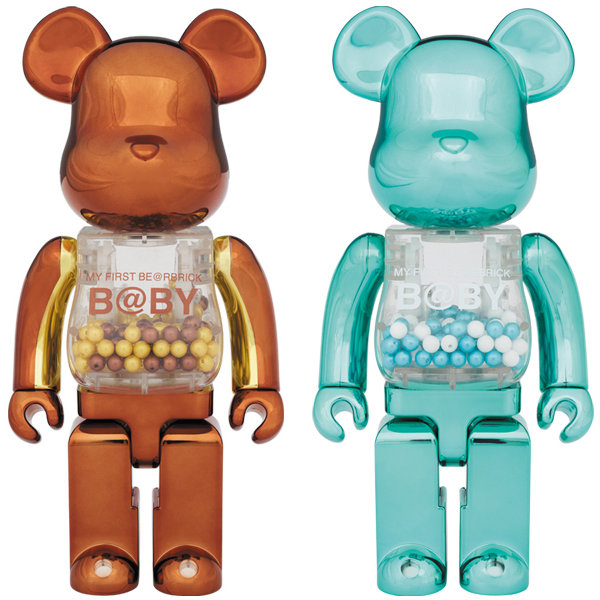 MY FIRST BE@RBRICK B@BY Steampunk Ver./Turquoise Ver.400%