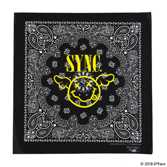 "BANDANA ""FLYING SMILE"""