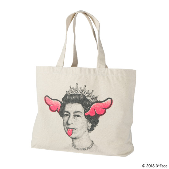 "TOTE BAG ""DOG SAVE THE QUEEN"""