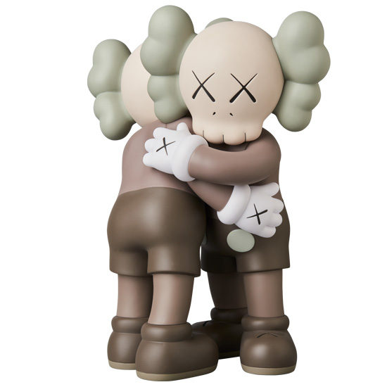KAWS TOGETHER BROWN