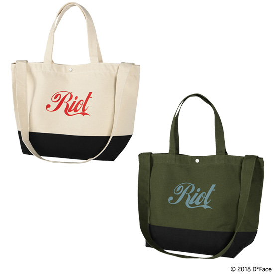 "2WAY TOTE BAG ""RIOT"""