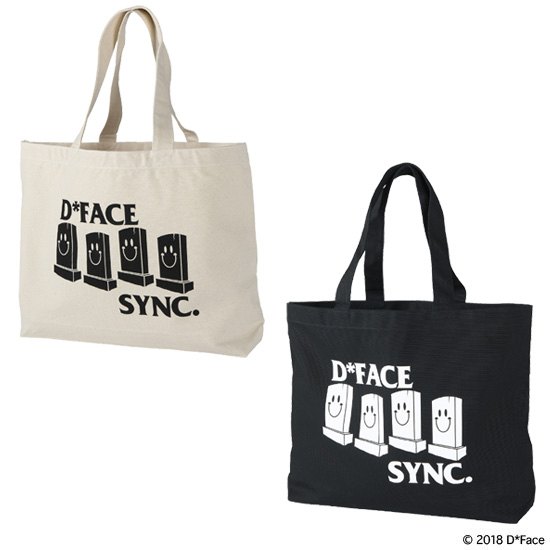 "TOTE BAG ""SMILE THOMBSTONE"""