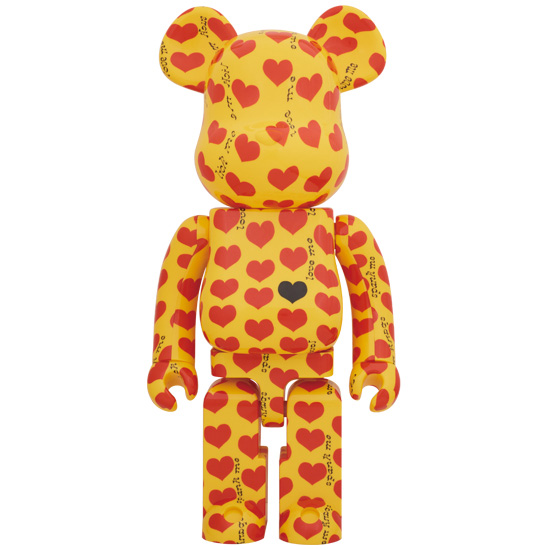 BE@RBRICK Yellow Heart 1000%