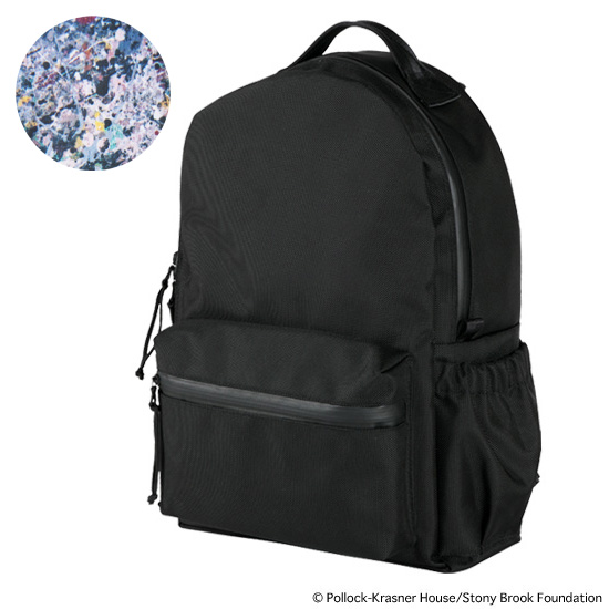 "BACKPACK ""JACKSON POLLOCK STUDIO 2"" made by RES"