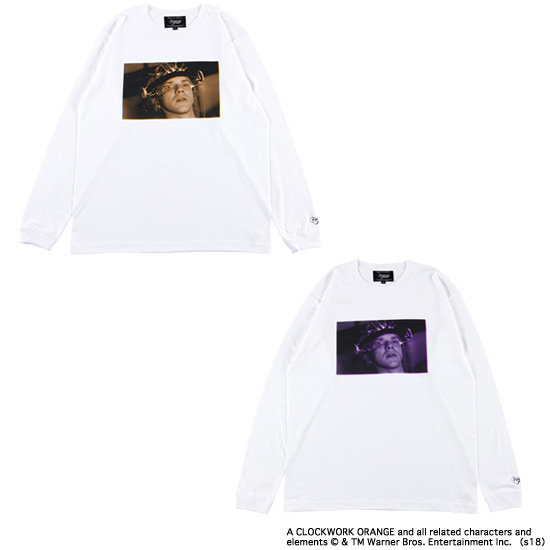 "LONG SLEEVE TEE ""LUDOVICO TECHNIQUE"""