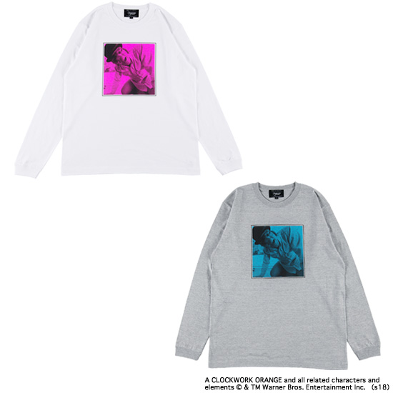 "LONG SLEEVE TEE ""MASK"""