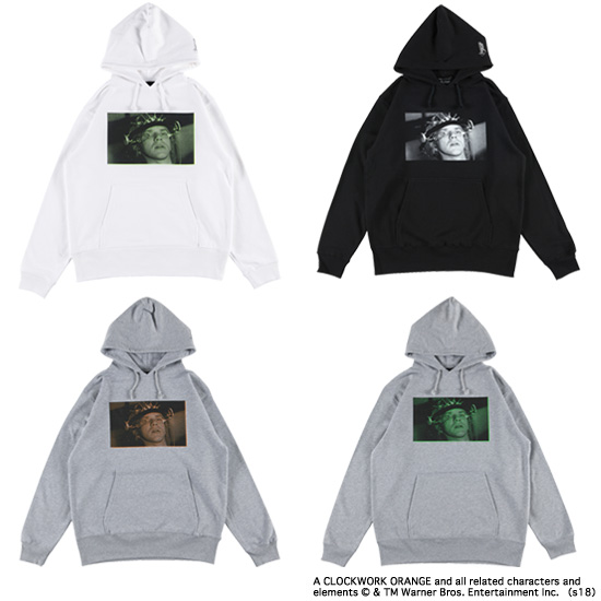 "PULLOVER HOODED ""LUDOVICO TECHNIQUE"""