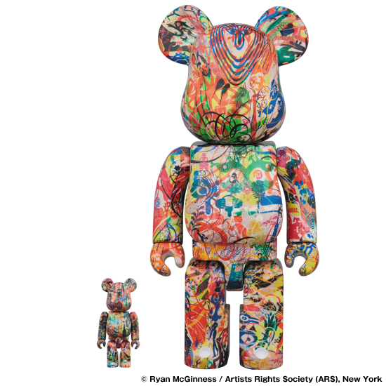 BE@RBRICK Ryan McGinness 100% & 400%