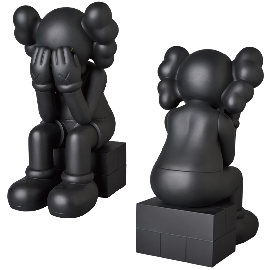 KAWS PASSING THROUGH BLACK