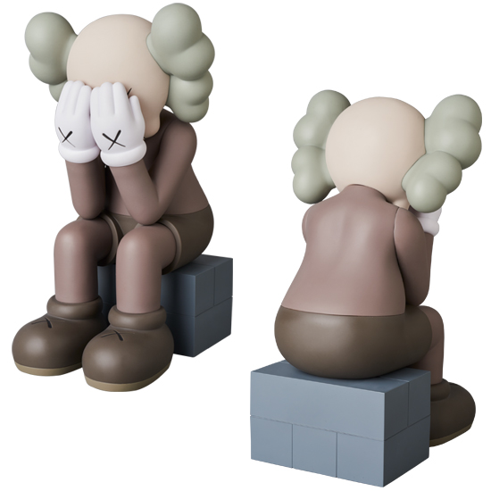 KAWS PASSING THROUGH BROWN