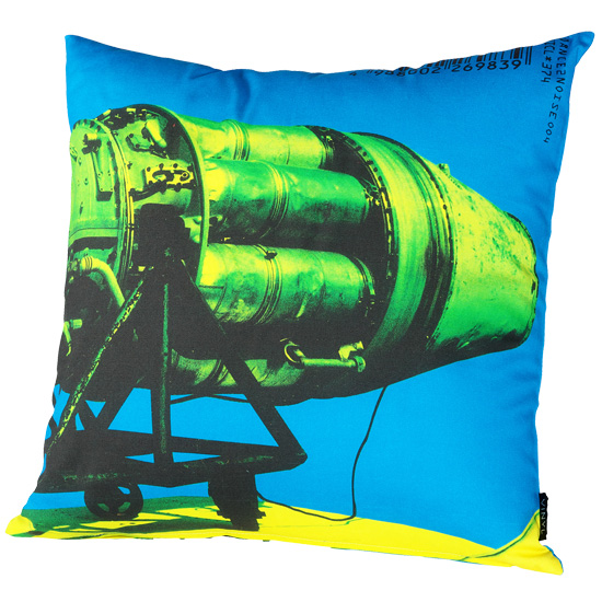 "VINYL ""DANCE 2 NOISE 004"" CUSHION"