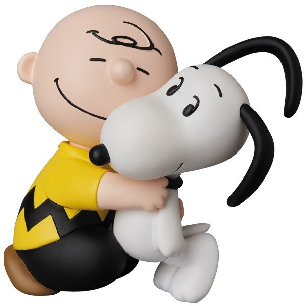 UDF PEANUTS シリーズ8 CHARLIE BROWN & SNOOPY