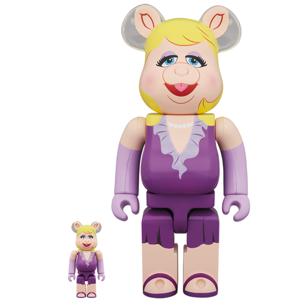 BE@RBRICK Miss Piggy 100% & 400%