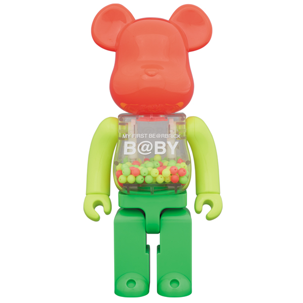 MY FIRST BE@RBRICK B@BY NEON Ver. 400%