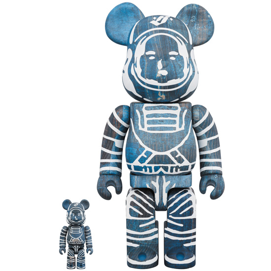 BE@RBRICK BILLIONAIRE BOYS CLUB × FDMTL 100% & 400%