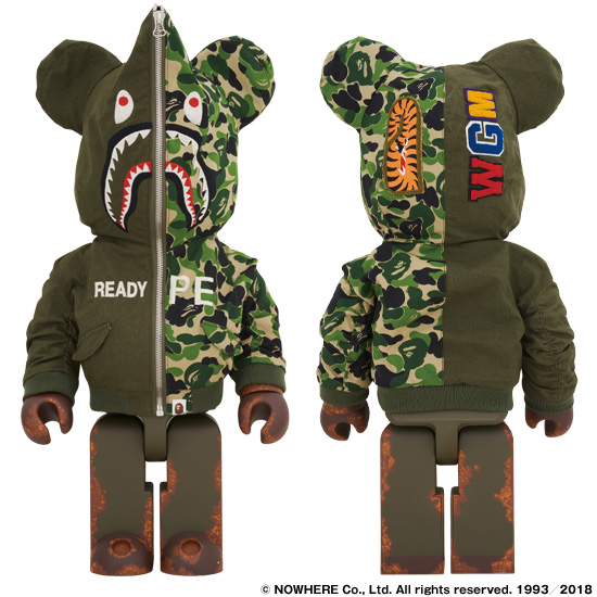 BE@BRICK READYMADE x A BATHING APE® 1000%