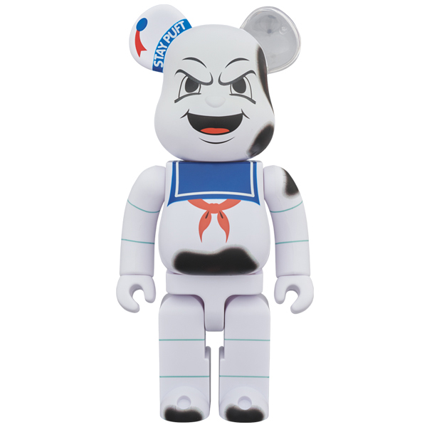 "BE@RBRICK STAY PUFT MARSHMALLOW MAN ""ANGER FACE"" 400%"