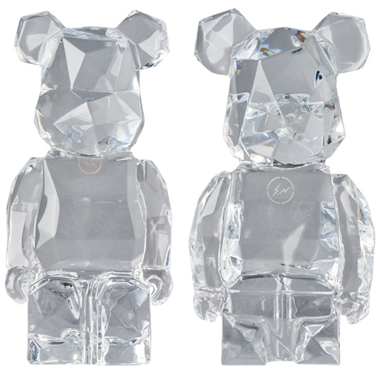 Baccarat fragmentdesign BE@RBRICK