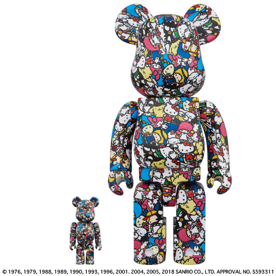 BE@RBRICK Sanrio characters 100% & 400%