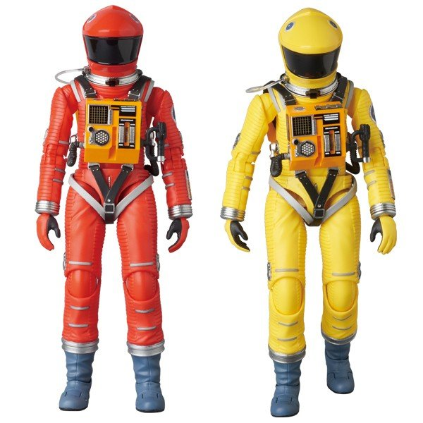 MAFEX SPACE SUIT ORANGE Ver./YELLOW Ver.