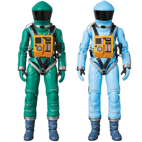 MAFEX SPACE SUIT GREEN Ver./LIGHT BLUE Ver.