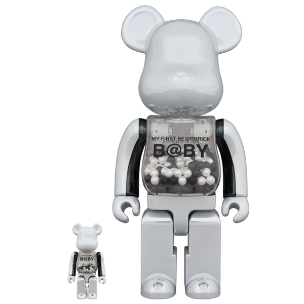 MY FIRST BE@RBRICK B@BY innersect Ver. 100% & 400%