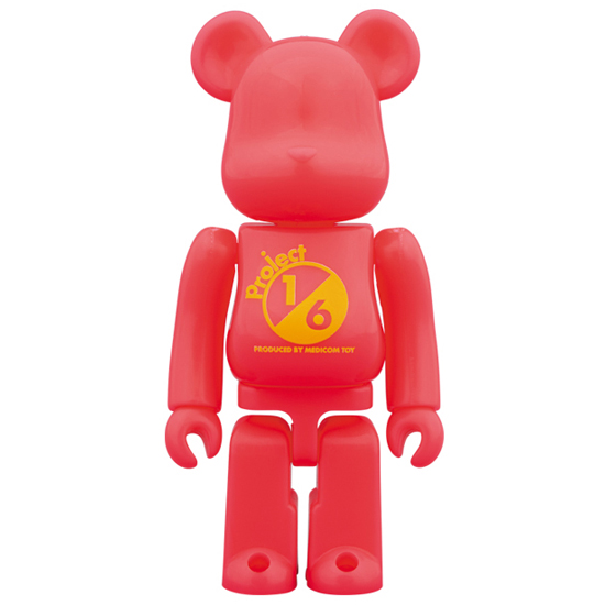 BE@RBRICK SERIES 37 RELEASE CAMPAIGN Project 1/6 Special Edition