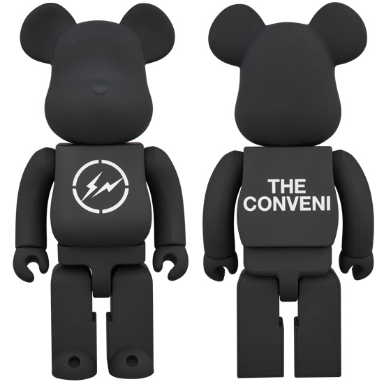 BE@RBRICK THE CONVENI BLACK 400%