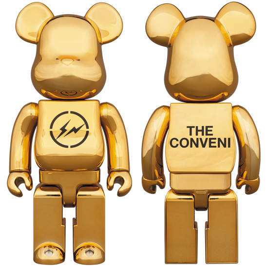 BE@RBRICK THE CONVENI GOLD 400%