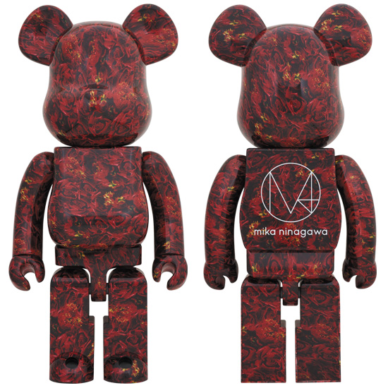 BE@RBRICK M / mika ninagawa LEATHER ROSE 1000%