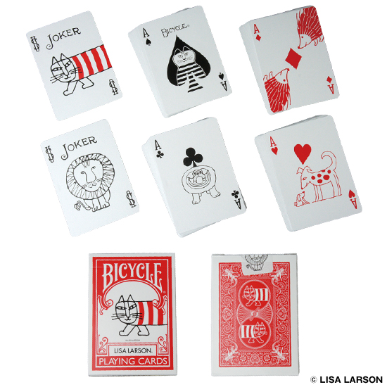 BICYCLE PLAYING CARDS LISA LARSON