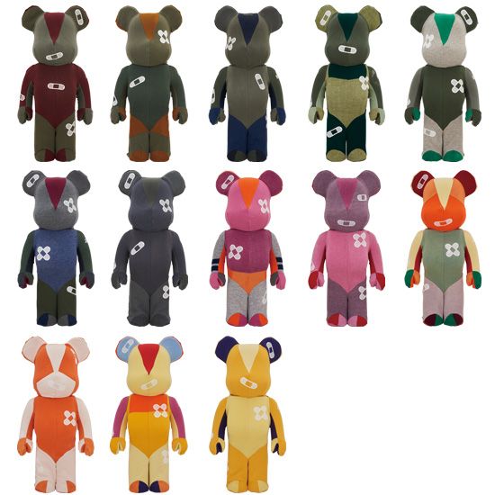 DR x ROMANELLI ONE OF KIND COLLECTION BE@RBRICK 1000%