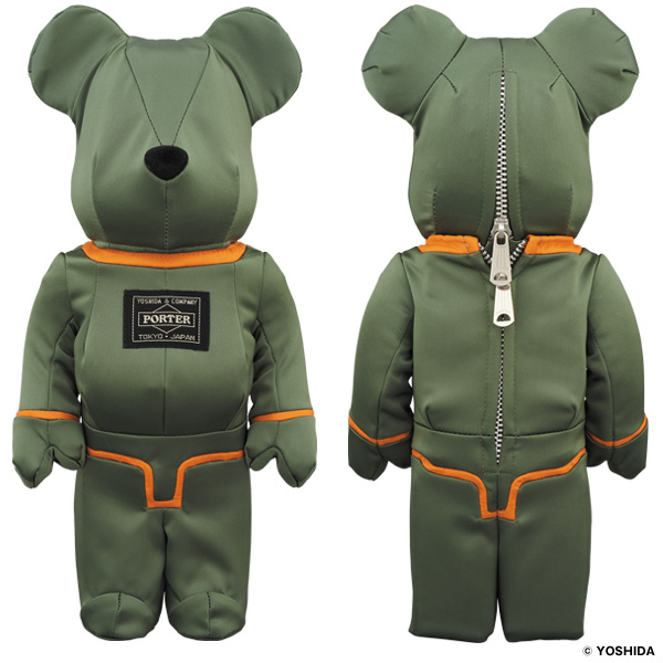 PORTER×BE@RBRICK 400% TANKER SAGE GREEN Special Edition