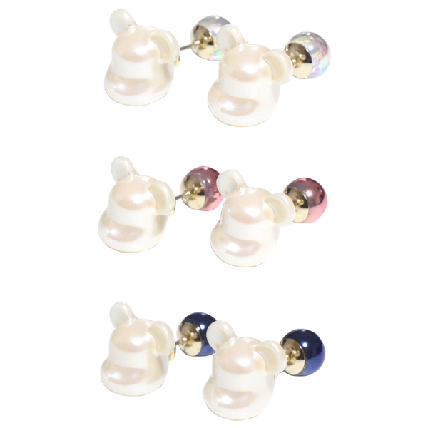 dix × BE@RBRICK / PEARL BE@RBRICK CANDY PIERCE CRYSTAL/PINK/BLUE