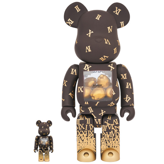 BE@RBRICK SHAREEF 2 100% & 400%