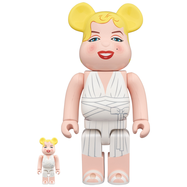 BE@RBRICK Marilyn Monroe 100% & 400%