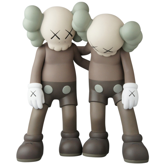 KAWS ALONG THE WAY BROWN