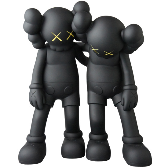 KAWS ALONG THE WAY BLACK