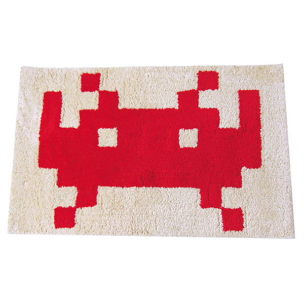 MLE SPACE INVADERSシリーズ SPACE INVADERS RUG Design A