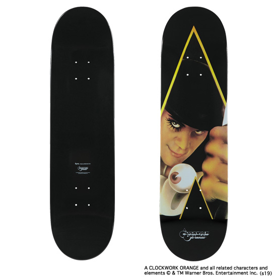 "SKATEBOARD DECK ""A CLOCKWORK ORANGE"""
