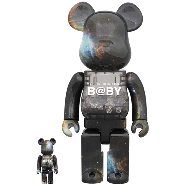 MY FIRST BE@RBRICK B@BY SPACE Ver.100% & 400%