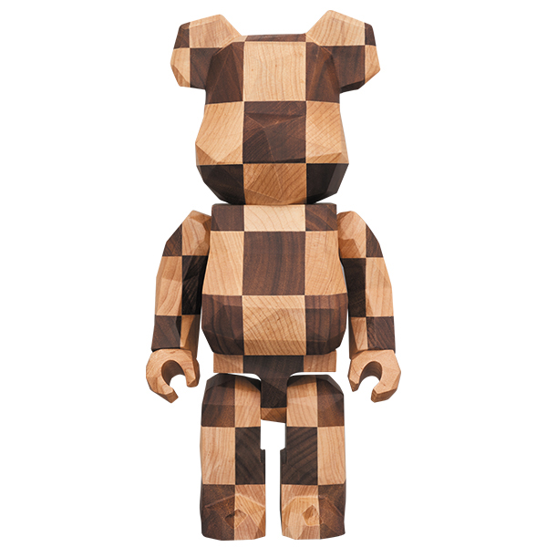 BE@RBRICK カリモク fragmentdesign 400% polygon - CHESS