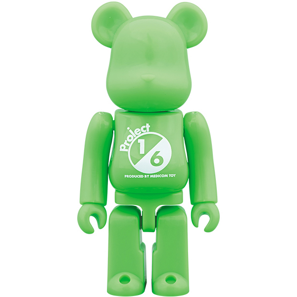 BE@RBRICK SERIES 38 RELEASE CAMPAIGN Project 1/6 Special Edition