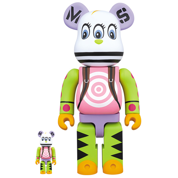 BE@RBRICK master-piece 100% & 400%