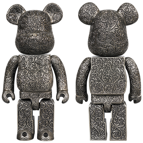 BE@RBRICK ROYAL SELANGOR ARABESQUE BLACK