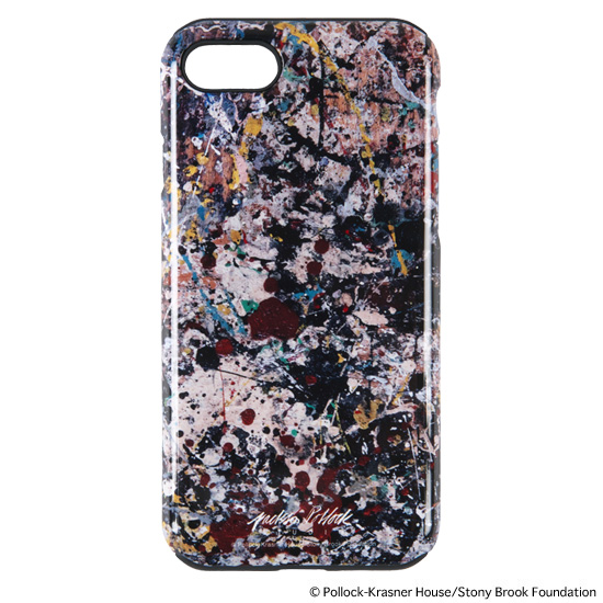 "iPhone CASE for 7/8 ""JACKSON POLLOCK STUDIO 2"""