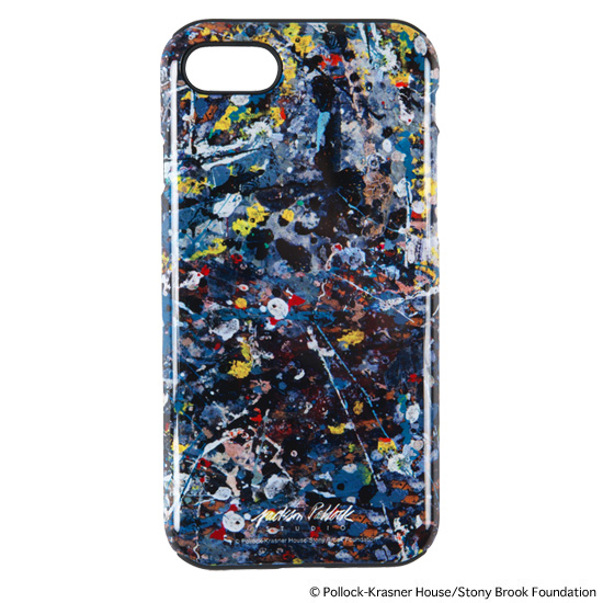 "iPhone CASE for 7/8 ""JACKSON POLLOCK STUDIO"""