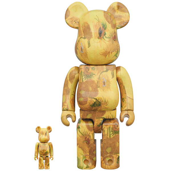 BE@RBRICK 「Van Gogh Museum」 Sunflowers 100% & 400%