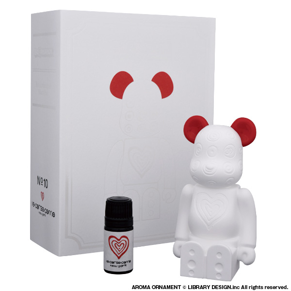 BE@RBRICK Aroma Ornament ×10 Corso Como New York #10 Heart /9月14日(土)より